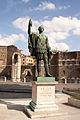 Statue of Roman Emperor Nerva, Via dei Fori Imperiali.jpg