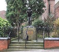 Statue of Sergeant Major George Eardley VC MM