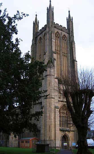 St Cuthbert's Church, Wells - Image: Stcuthbertwells