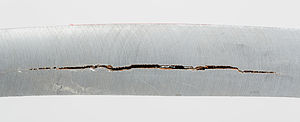 Hydrogen embrittlement - Hydrogen Induced Cracks (HIC)