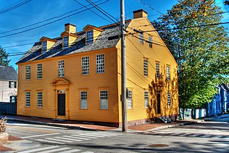 Chase family - The Stephen Chase house is preserved as part of the Strawbery Banke Museum in Portsmouth, New Hampshire.