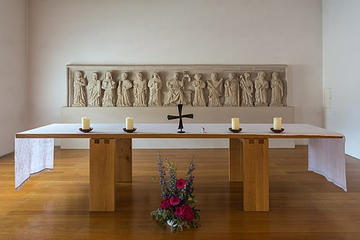 Stift Melk Benediktuskapelle Altar 01