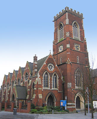 Acton, London - St Mary's Church, King Street, Acton Central
