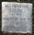 Stolperstein-Rommni Jg 1940-Stein 49-Koeln-cc-by-denis-apel.jpg