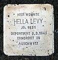 Stolperstein Auf dem Grat 43 (Dahle) Hella Levy.jpg