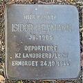 Stolperstein Bad Bentheim Dorfstraße 21 Isidor Heymann.JPG