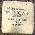 Stolperstein Bruno de Beer.jpg