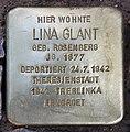 Stolperstein Duisburger Str 19 (Wilmd) Lina Glant.jpg