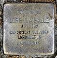 Stolperstein Emser Str 39d (Wilmd) Lore Ida Halle.jpg