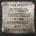 Stolperstein Höxter Corveyer Allee 5 Dr Richard Frankenberg.jpg