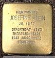 Stolperstein Kleve Hagsche Poort 10 Josefine Klein.jpg