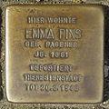 Stolperstein Marktstr 23 Emma Pins.jpg