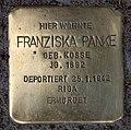 Stolperstein Pariser Str 47 (Wilmd) Franziska Panke.jpg