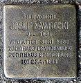 Stolperstein Straßburger Str 24 (Prenz) Josef Nawrocki.jpg