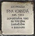 Stolperstein für Irma Kohnova.jpg
