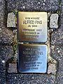 Stolpersteins Alfred Pins Rosalie Pins, Hofgartenstraße 8, Troisdorf.jpg