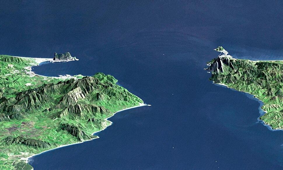 Strait of Gibraltar perspective