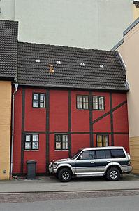Stralsund, Fährstraße 17, Ecke Fährwall, Gaststätte Zur Fähre (2012-03-04) 1, by Klugschnacker in Wikipedia.jpg