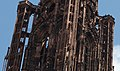 Strasbourg Cathedral - Towers Spire - Detail (7699288508).jpg
