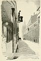 Street In Old French Quarter Chartres 1913.jpg