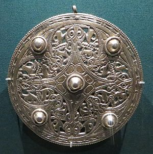 Fuller Brooch - The Strickland Brooch, also in the British Museum