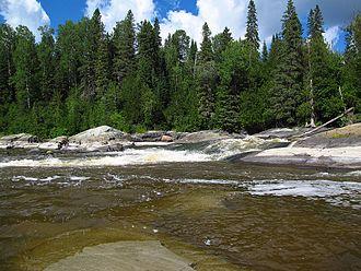 Blanche River (Lake Timiskaming) - Stuart's Rapids on the Blanche River