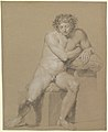 Study of a Seated Male Nude MET DP819783.jpg