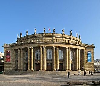 Staatstheater Stuttgart - Staatstheater Stuttgart, Opera house