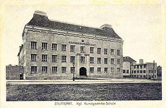 Bernhard Pankok - The Stuttgart Decorative Arts School.