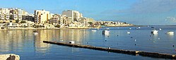 Bugibba harbour.