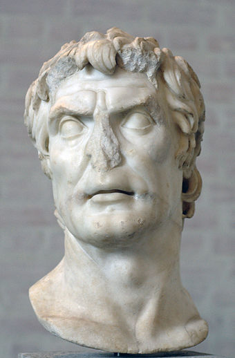 Bust presumed to be that of Roman Dictator Lucius Cornelius Sulla Sulla Glyptothek Munich 309.jpg