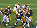 Sun Devils on offense at Arizona State at Cal 2010-10-23 15.JPG