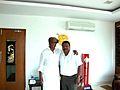 Suresh Parthasarathy wiith Rajinikanth sir.JPG