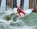 Surfer, Huntington Beach, California (27222468918).jpg