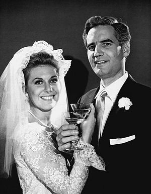 Another World (TV series) - John and Pat are married, 1965.
