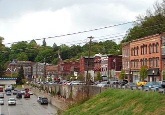 Susquehanna County, Pennsylvania - Susquehanna Depot Main Street