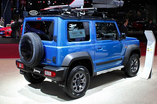 Suzuki Jimny 1.5 (JB74W)