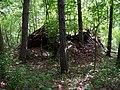Svatý Jan pod Skalou, chýše v lese.jpg