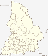 Jekaterinburg is in Swerdlofsk-oblast