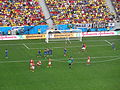 Switzerland and Ecuador match at the FIFA World Cup 2014-06-15 DSC06426 (14429207392).jpg