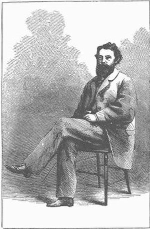 Sylvester Mowry - An 1864 drawing of Sylvester Mowry by John R. Browne.
