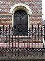 Synagogue, David star stained-glass window, 2019 Újpest.jpg