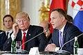 Szczyt Inicjatywy Trójmorza Warszawa 2017 – Andrzej Duda i Donald Trump.jpg