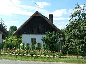 Tét - Image: Tét Szentkút régi pasztház