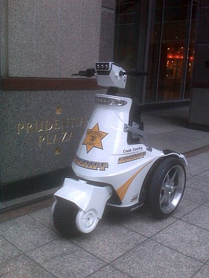 Motorized scooter - T3 Patroller electric stand-up tricycle