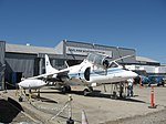 TAV-8A Harrier trainer, NASA markings (6096994593).jpg