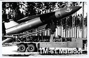 TM-61 Matador missile