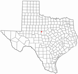 Location of Novice, Texas