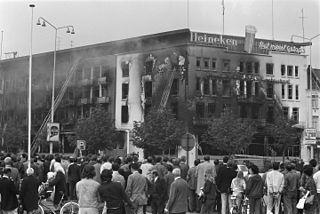 Hotel 't Silveren Seepaerd fire