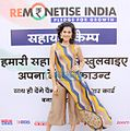 Taapsee Pannu endorses a cashless economy by supporting the 'Remonetise India' campaign.jpg